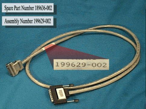 SCSI interface cable - 50-pin high density