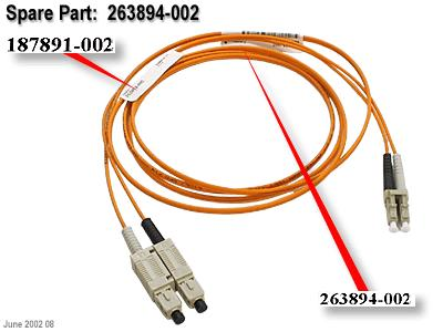 HP Fiber Optic Network Cable