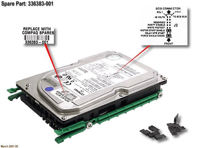 SPS-DRV,HD,4GB,68 PIN