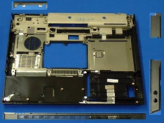 CPU base enclosure (chassis bottom) - Does