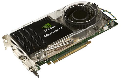 PCIe NVIDIA Quadro FX 5600 1.5GB graphics