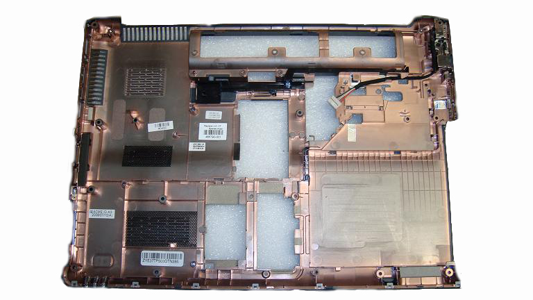 Chassis base enclosure assembly - Includes DC
