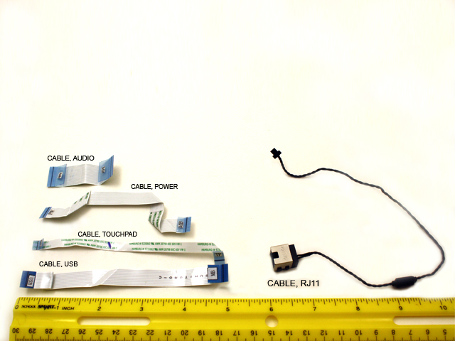 Cable kit - Includes RJ11 modem cable,