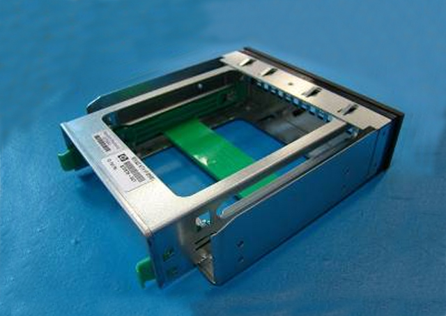 Hard drive carrier assembly - For inserting