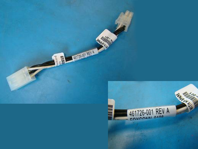 Power adapter cable assembly - Reduces the