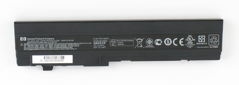 Battery (Primary) - 6-cell lithium-ion (Li-Ion),