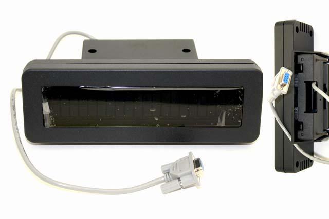 Vacuum Fluorescent Display (VFD) 2-line panel