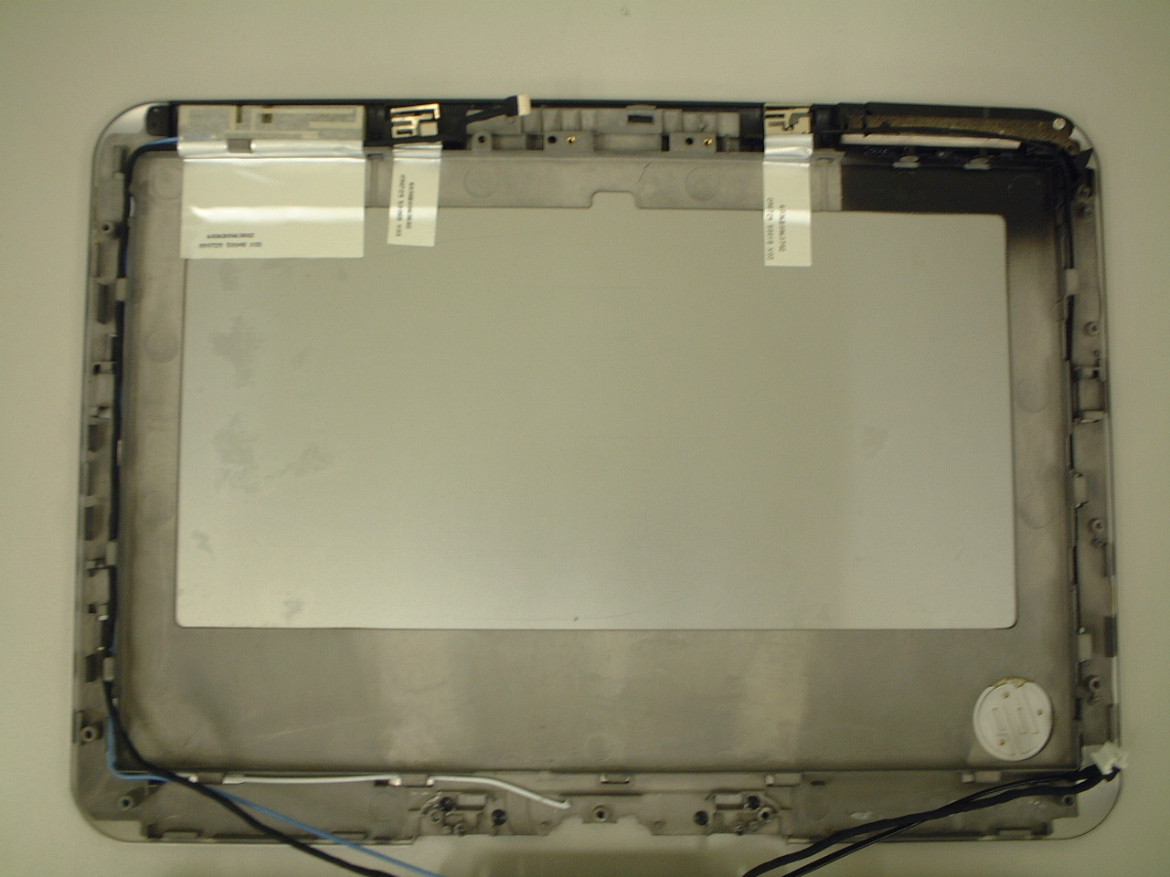 HP LCD PANEL BACK COVER (SILVER)