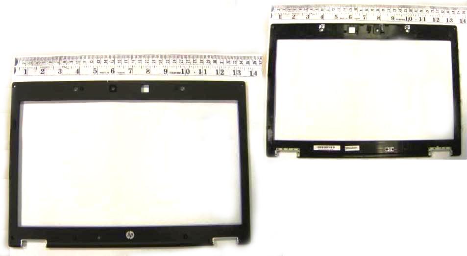 Display bezel with webcam lens - For