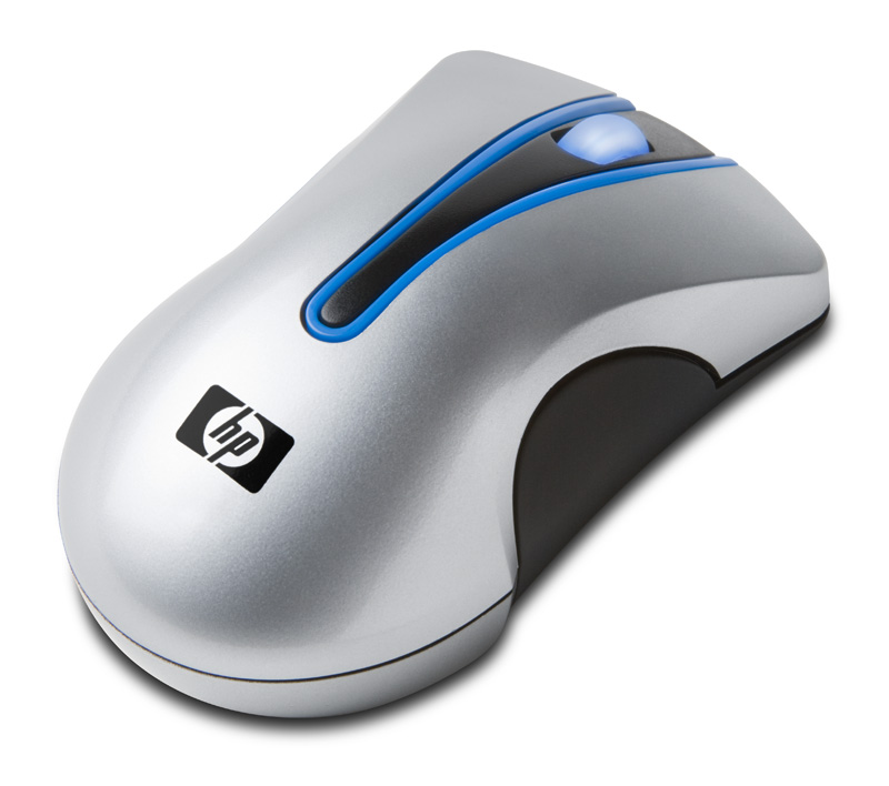 HP wireless optical mouse (Dexin) - With