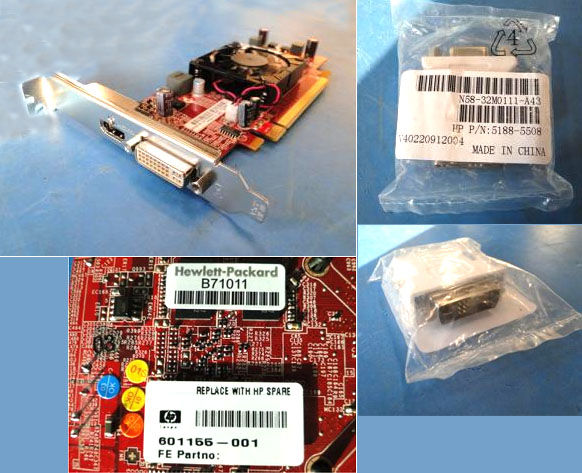 ATI Radeon HD5450 PCIe 1GB graphics card