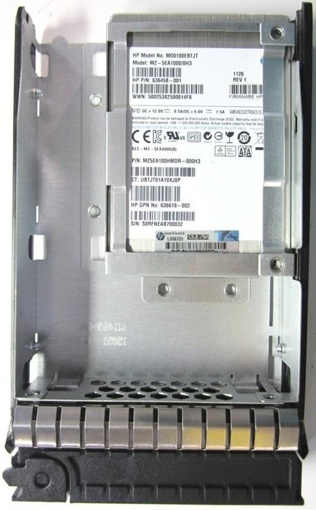 SPS-DRV SSD 200GB 3.5 3G SATA SFF to LFF