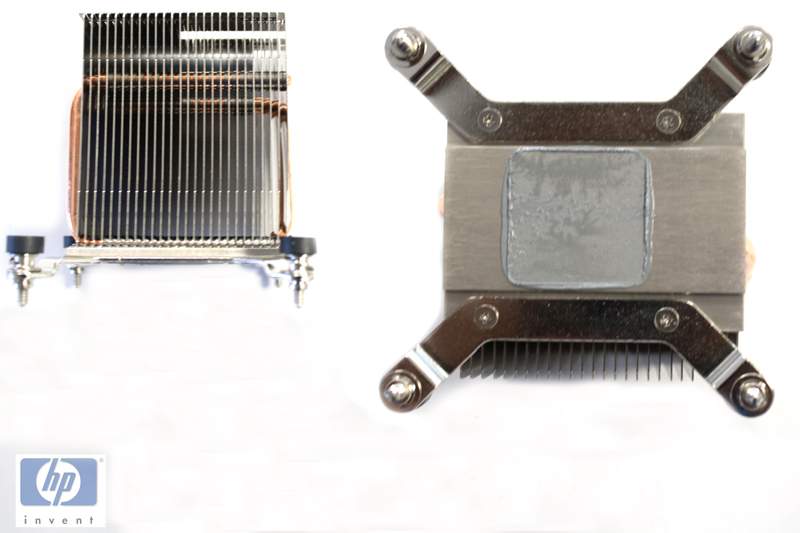 Processor heat sink assembly - For Small