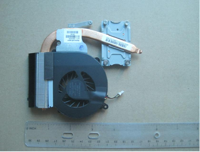 Heat sink with fan - For use
