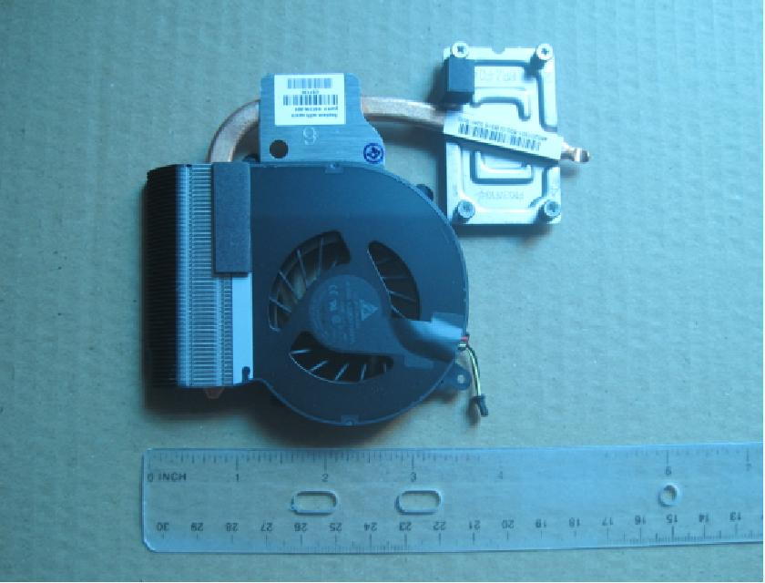 Heatsink and fan assembly - For use