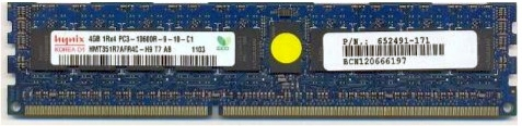 SPS DIMM 4GB PC3-10600R 512Mx4