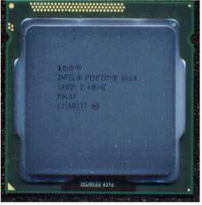 Intel Pentium G620 Dual-Core 64-bit processor -