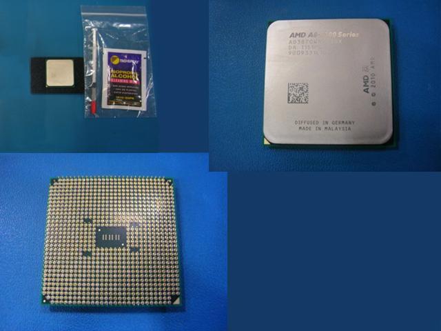 AMD Llano-X4 A8-3870 64-bit Quad-Core processor -