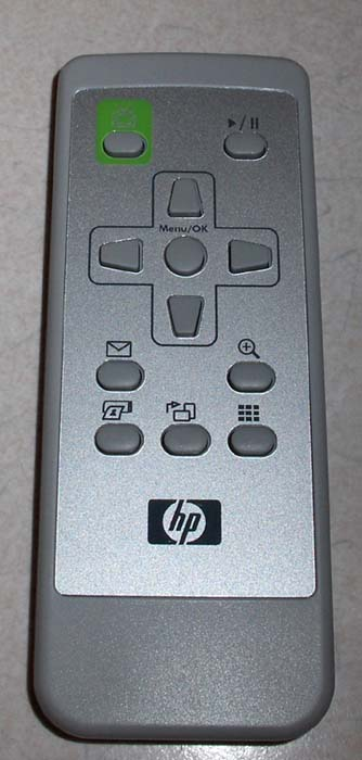 Remote control - For the PhotoSmart R-Series