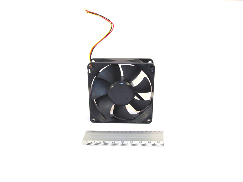 Cooling fan - Located on the right