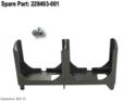 2-bay fan bracket assembly - Mounts on