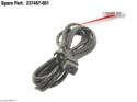 AC power cord (Black) - 125VAC, 12A