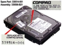 4.3-GB Ultra Wide SCSI hard drive -