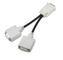 DVI 'Y' adapter cable with Molex DMS-59