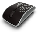 HP wireless optical mouse (Mesh)
