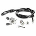 Clamp security lock kit - With cable