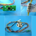 Part description:\nPower on/off switch and LEDs