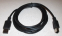 Universal Serial Bus (USB) interface cable (Black)