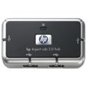 HP USB 2.0 4-port hub - Includes